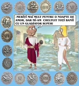 """""""NASTRATIN"""" va prezinta """"sprintia"""", niste monede rare, care au fost folosite in Roma antica, pentru a plati diferite servicii in bordeluri sau, direct, pe prostituate de pe strazi. Fotografiile monedelor ne-au provenit prin amabilitatea profesorului buzoian Mircea Costache."""