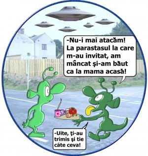 ATENŢIE, ROMANI! EXTRATERESTRII VOR SA NE INVADEZE…