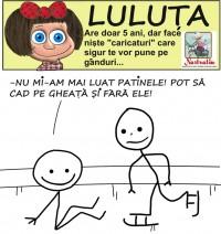 Luluta isi expune punctul de vedere