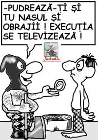 Executia se televizeaza!