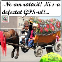 S-a defectat GPS-ul