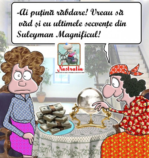 Stai sa se termine Suleyman