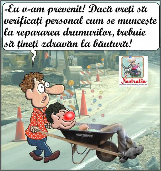 Cum se lucreaza la repararea drumurilor