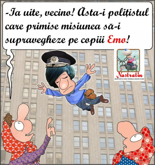 Politistul in misiune emo