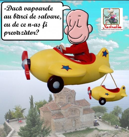 Avion de salvare…