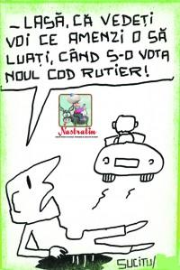 Cand s-o vota noul Cod Rutier