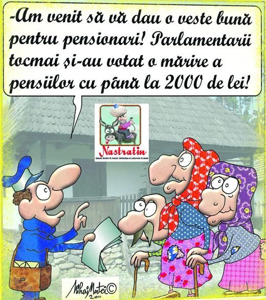 """Vestea mult """"asteptata"""" de pensionari"""