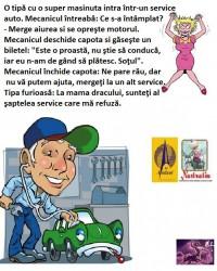 BAIETII RAI DE LA SERVICE