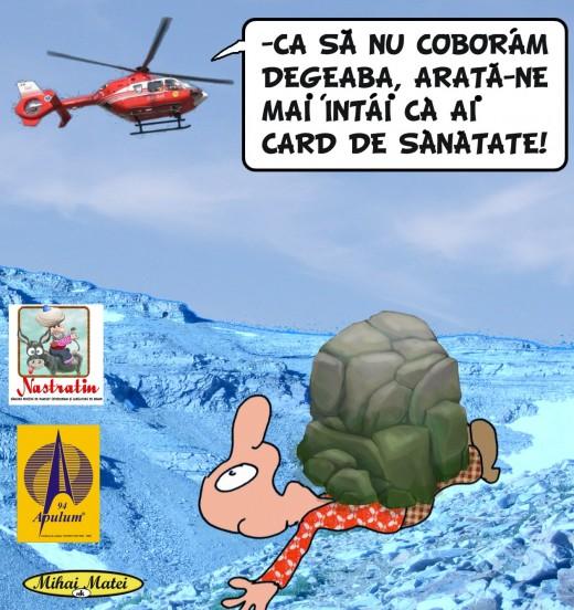 ATENTIE LA CARD!