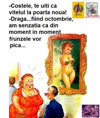 ASTEPT SA PICE FRUNZA!