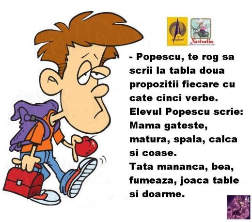 POPESCU STIE!