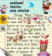 Copiii ii scriu lui Mos Craciun(3)