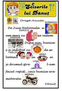 DANUT SI BUNICA LA ZIUA ROMANIEI
