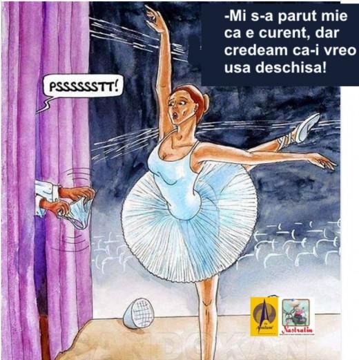 O balerina neglijenta