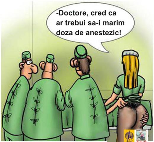 Chemati-l pe anestezist!