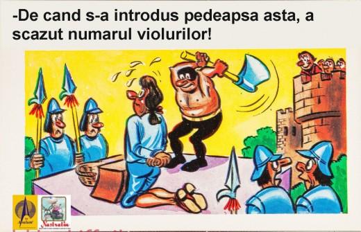 Pedeapsa pentru violatori
