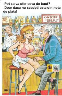 Discutie intr-un bar