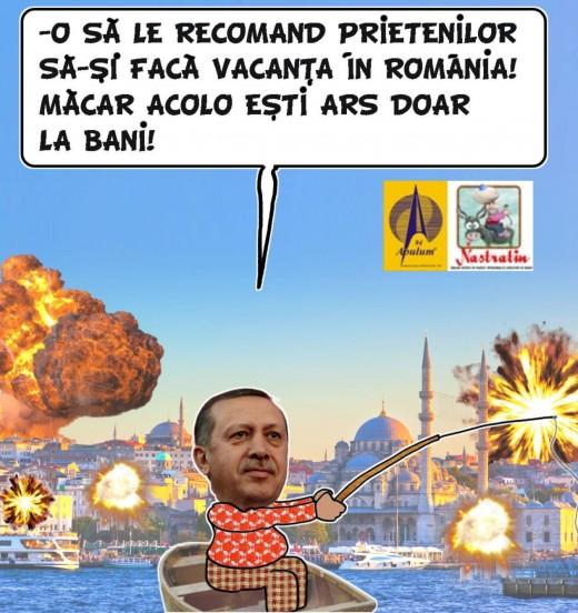 Istanbulul in flacari