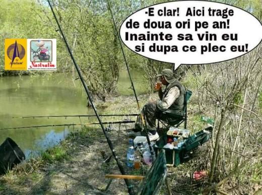 Pescarul amator