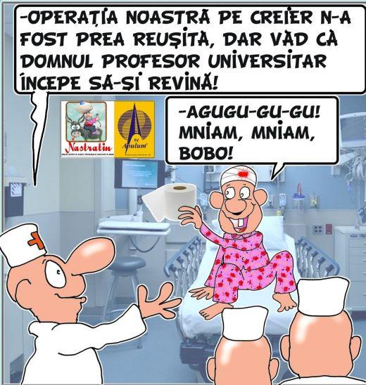 OPERATIE PE CREIER